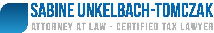 Unkelbach-Tomczak Attorney at Law Retina Logo